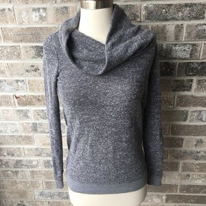 LOU & GREY Loft Cowl Neck Sweater Sweatshirt XXS